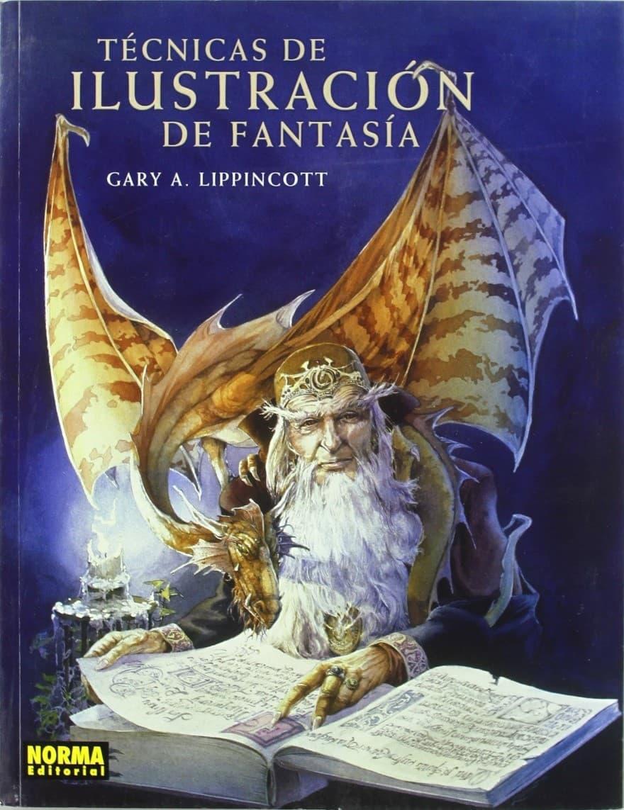 Libros para ilustradores: técnicas de ilustración de fantasía