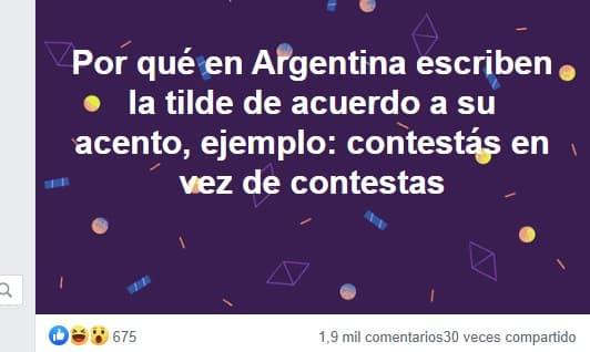 publicacion castellano en argentina