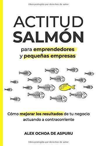 Actitud salmón libros para emprendedores